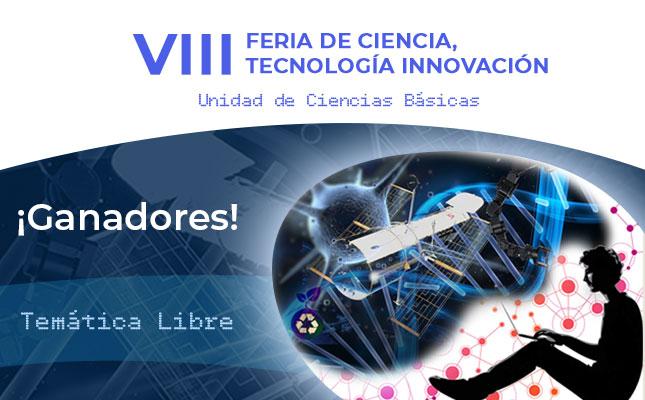 Ganadores de la VIII Feria de Ciencia, Tecnología e Innovación